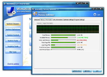 Safe Registry Cleaner 3.8 software screenshot