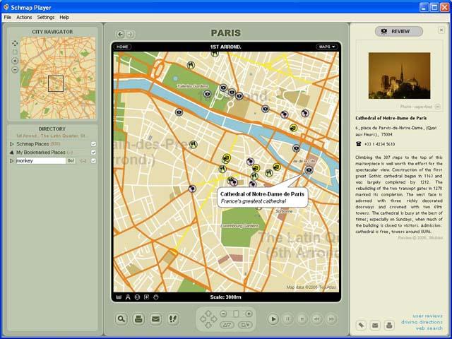 Schmap France 2.0 software screenshot