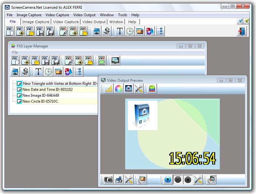 ScreenCamera.Net 1.4.7.10 software screenshot