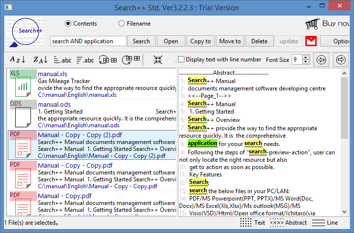 Search++ Free 3.2.2.4 software screenshot