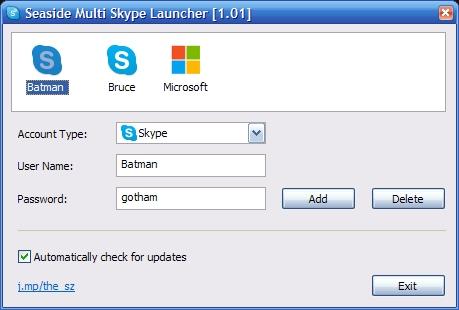 Seaside 1.01 software screenshot