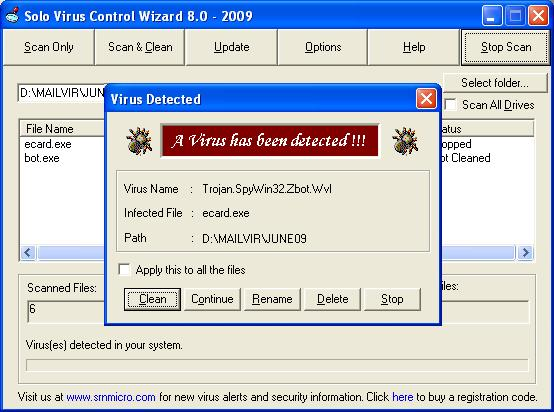 Solo Antivirus 2015 15.0.15.0.1 software screenshot