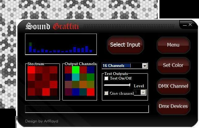 SoundGraffiti Dimmer 1.3.03 software screenshot