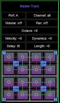 Space Toad MIDI Sequencer 2.1.1 software screenshot