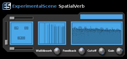 SpatialVerb VST 5.7.0 software screenshot