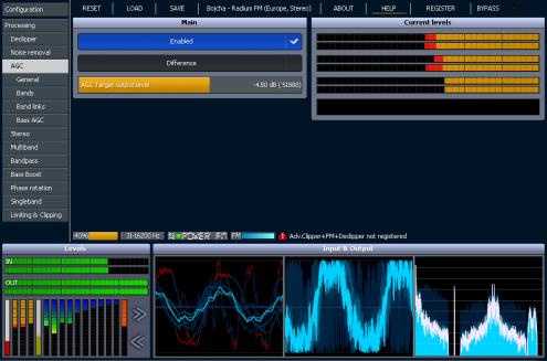 Stereo Tool 8.34 software screenshot