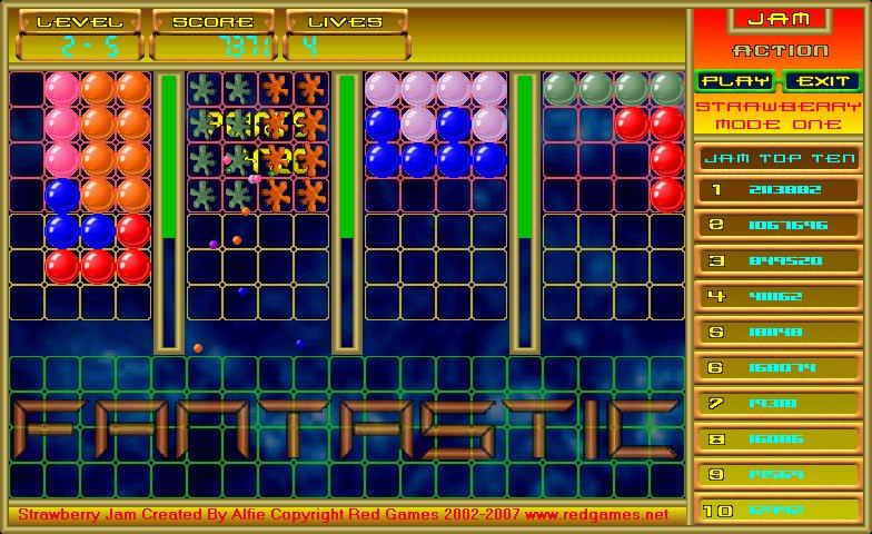 Strawberry Jam 1.0 software screenshot