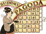 Sudoku Pagoda 1.1 software screenshot