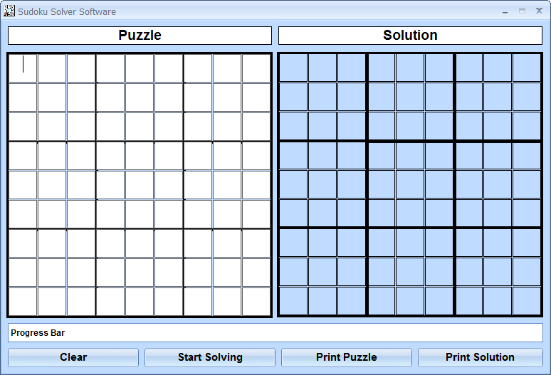 Sudoku Solver Software 16.6.15 software screenshot