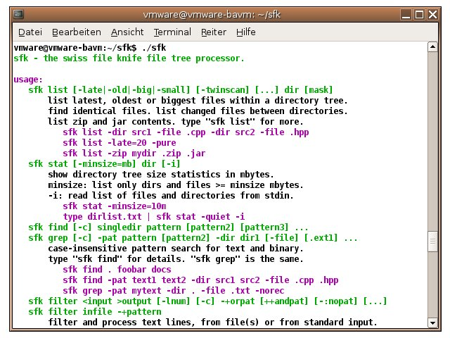 Swiss File Knife 1.8.5 Revision 2 software screenshot