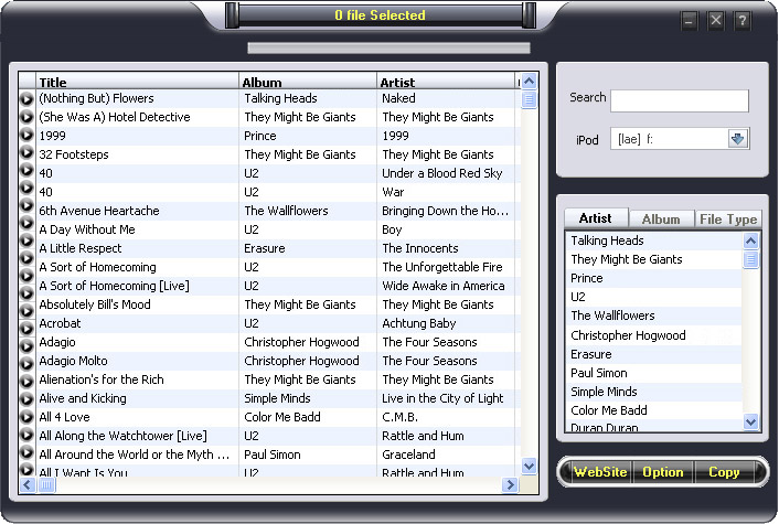 Tansee iPod video to PC Transfer 3.1 3.1 software screenshot