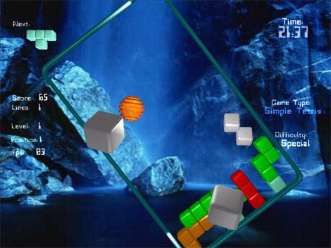 Tetris4000 2.6 software screenshot