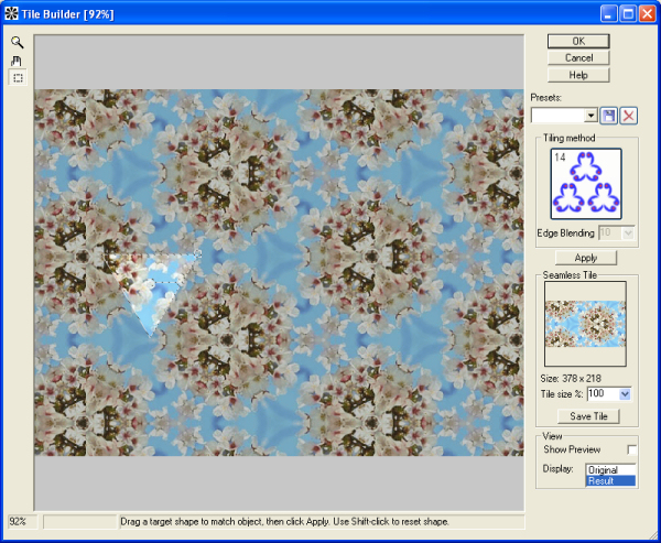 Tile Builder 1.6 software screenshot