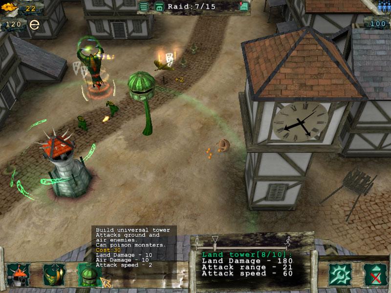 Tower Defence 1.6 software screenshot