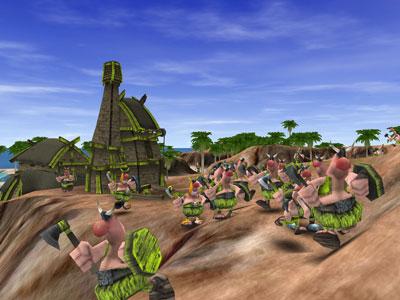 Tribal Trouble 1.10 software screenshot