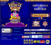 Trident Lounge Casino by Online Casino Extra 2.0 software screenshot