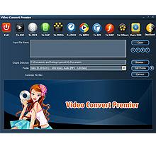 Video Convert Premier 10.0.1.16 software screenshot