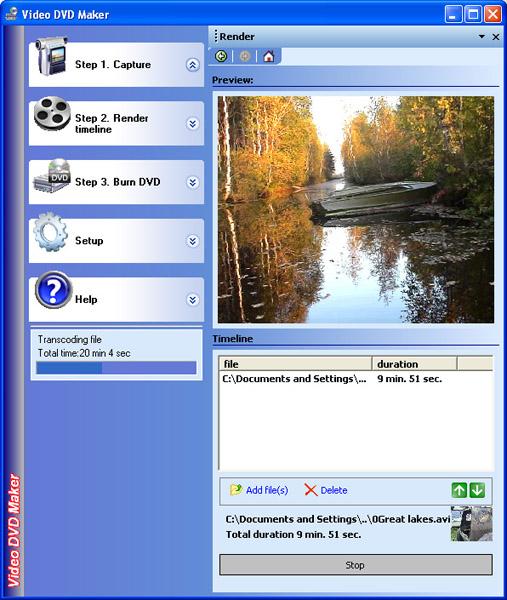 Video DVD Maker FREE 3.32.0.80 software screenshot