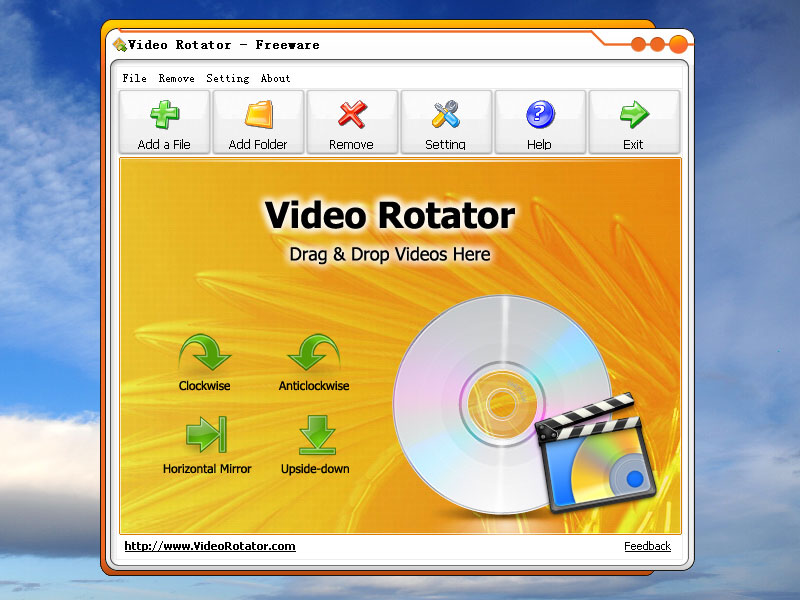 Video Rotator 3.0.3 software screenshot