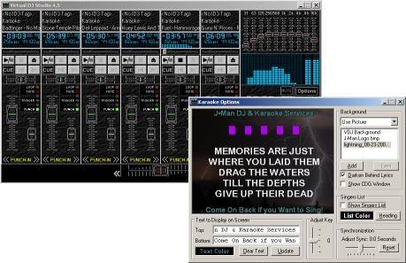 Virtual DJ Studio 7.8.00 software screenshot