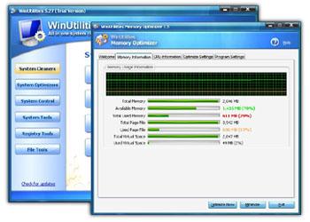 Vista Registry Cleaner 6.07 software screenshot
