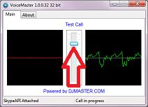 VoiceMaster 2.0.0.224 software screenshot