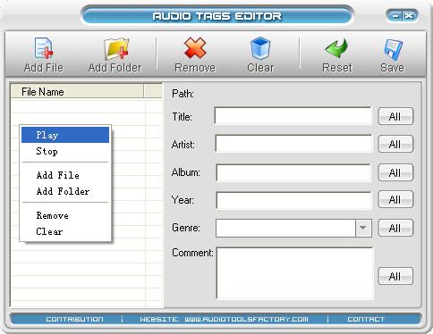 WAV Cutter Joiner 1.00 software screenshot