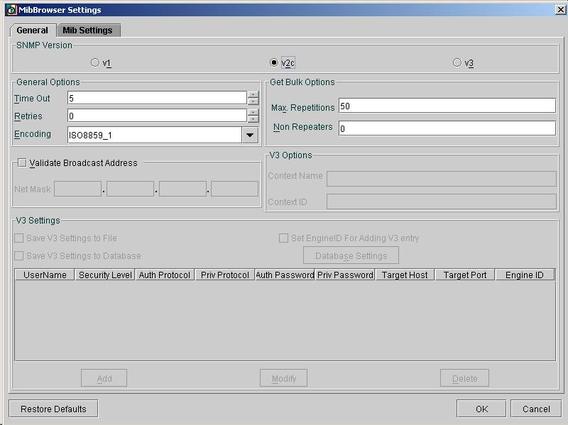 WebNMS SNMP Agent Toolkit 6.0.3 software screenshot