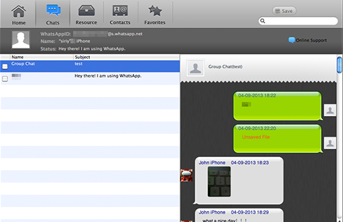 WhatsApp Pocket 3.6.7.1 software screenshot