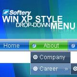WinXP Style Drop-Down Flash Menu 1.0.5 software screenshot