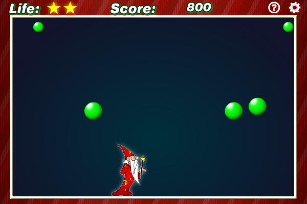 Wizard Balls 1.4.0 software screenshot