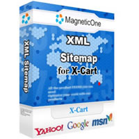 XML Sitemap for X-Cart 3.6.9 software screenshot