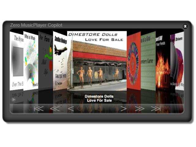 Zero MusicPlayer 1.02 software screenshot