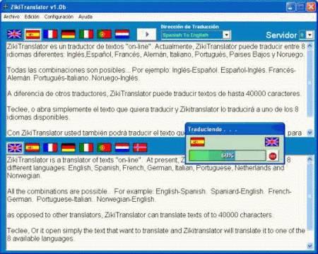 ZikiTranslator 1.3.6a software screenshot