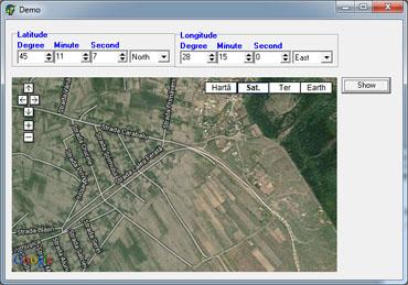 ZylGMaps 1.05 software screenshot