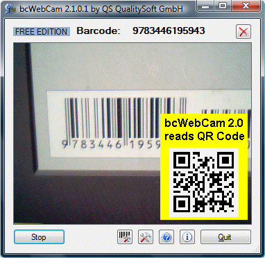 bcWebCam 2.4.0.25 software screenshot