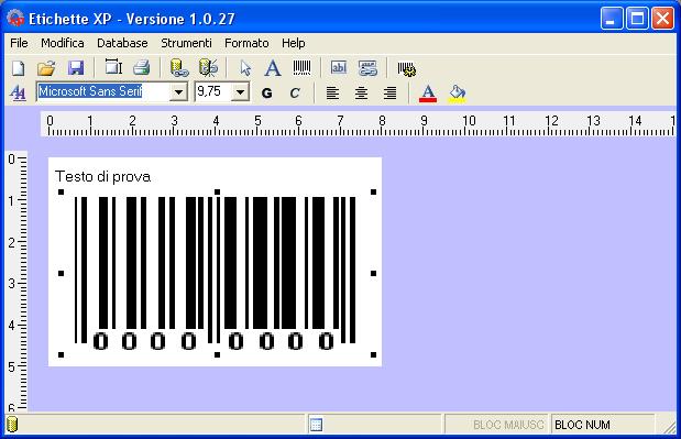 etichettexp 4.2 software screenshot