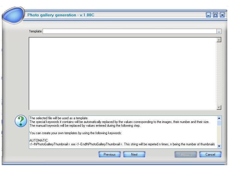 fhPhotoGallery 1.00h software screenshot