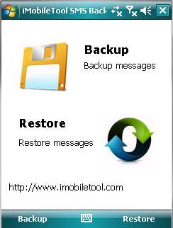 iMobileTool SMS Backup 3.10 software screenshot