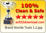 Brand Worlds Tools 1.2 Award